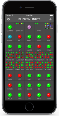 Blinkenlights app screenshot